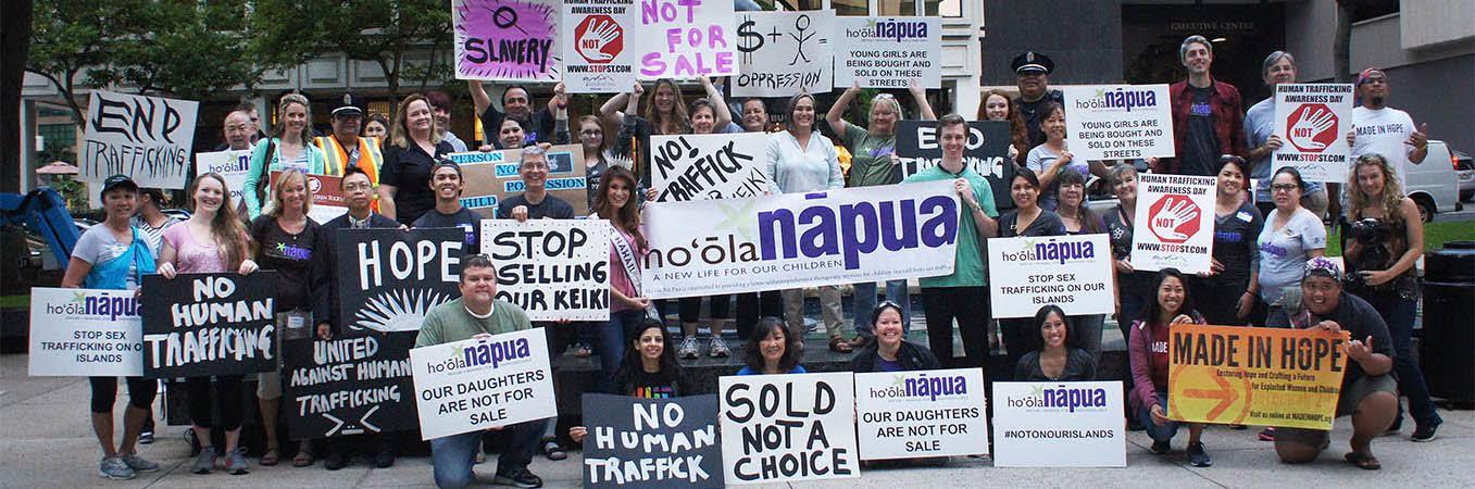 Hoʻōla Nā Pua Rescue Sex Trafficking Victim Event